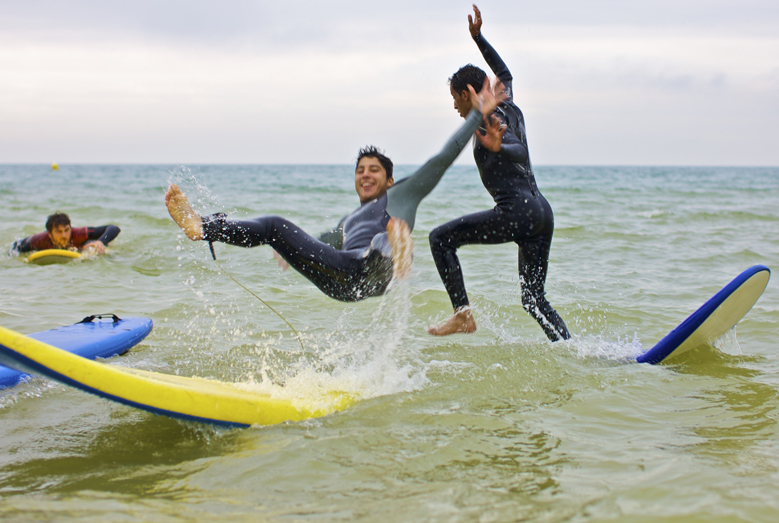 Sportske aktivnosti deo su jezičkog programa u koledžu Kings u Bornmutu