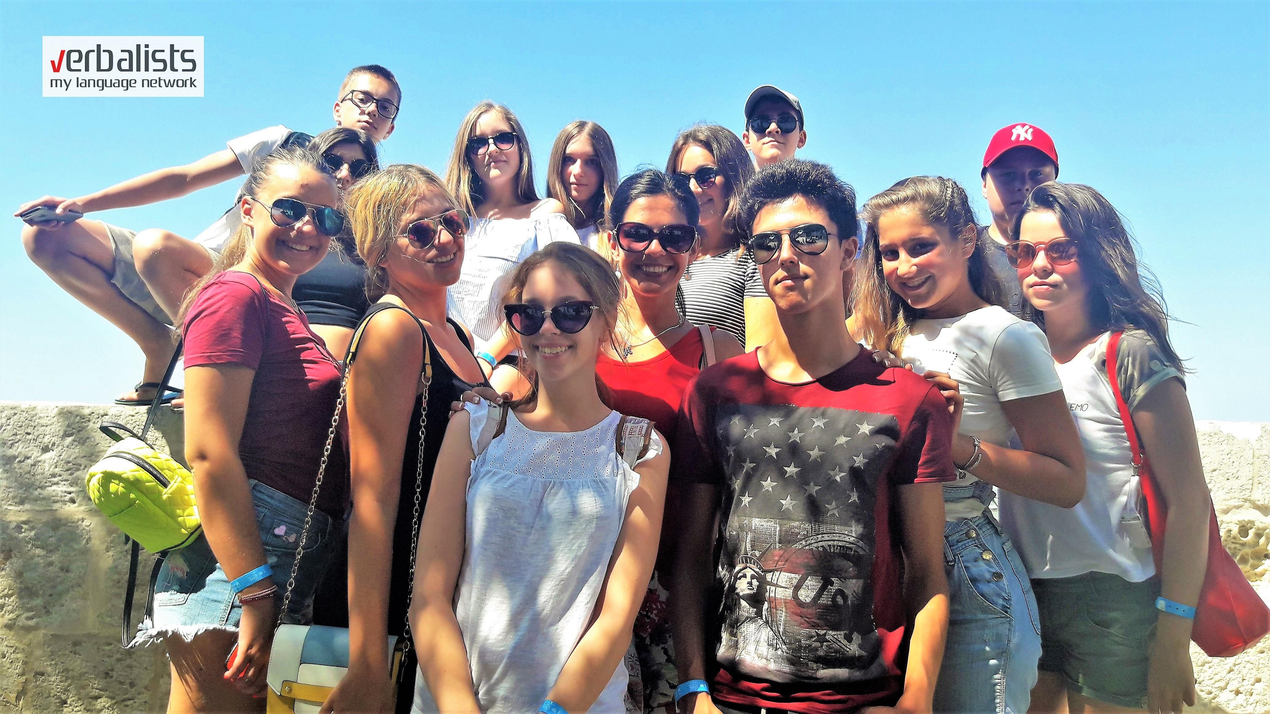 Letnje skole engleskog jezika, Verbalisti na Malti
