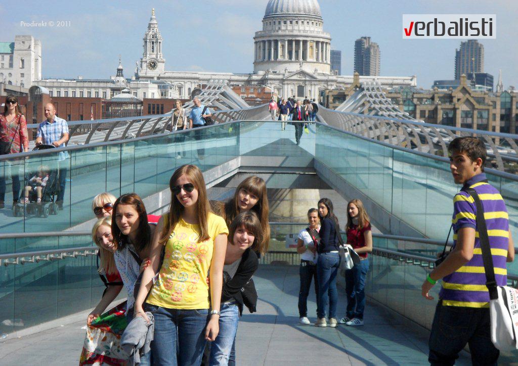 Verbalisti, My London jezičko putovanje