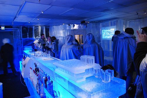 Absolut Ice Bar, Stockholm, Švedska