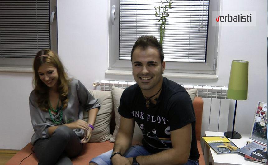 Иван Раденов во посета на Вербалисти во Скопје