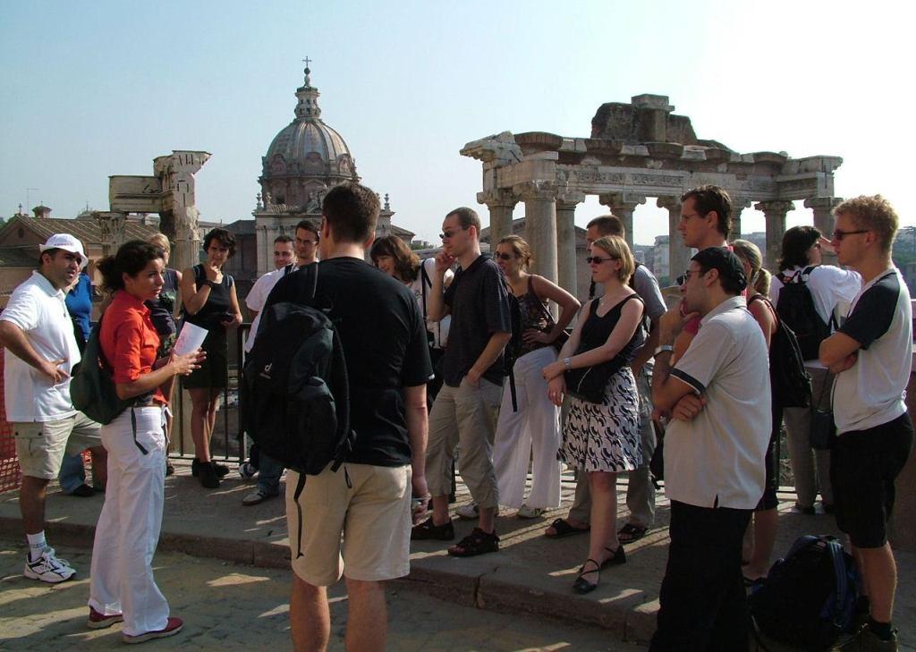Jezičko putovanje La Mia Roma i obilasci znamenitosti