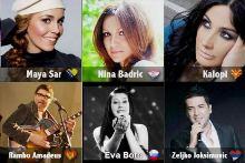 In Spotlight, Predstavnici zemalja bivse Jugoslavije na Evroviziji 2012