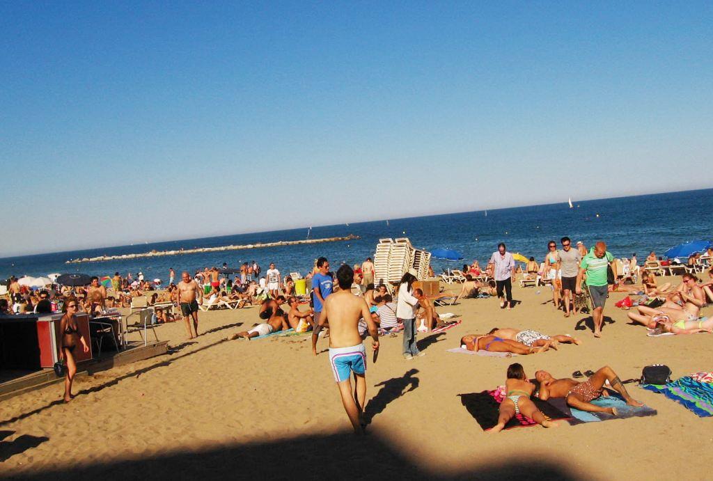 Plaža u Barceloni