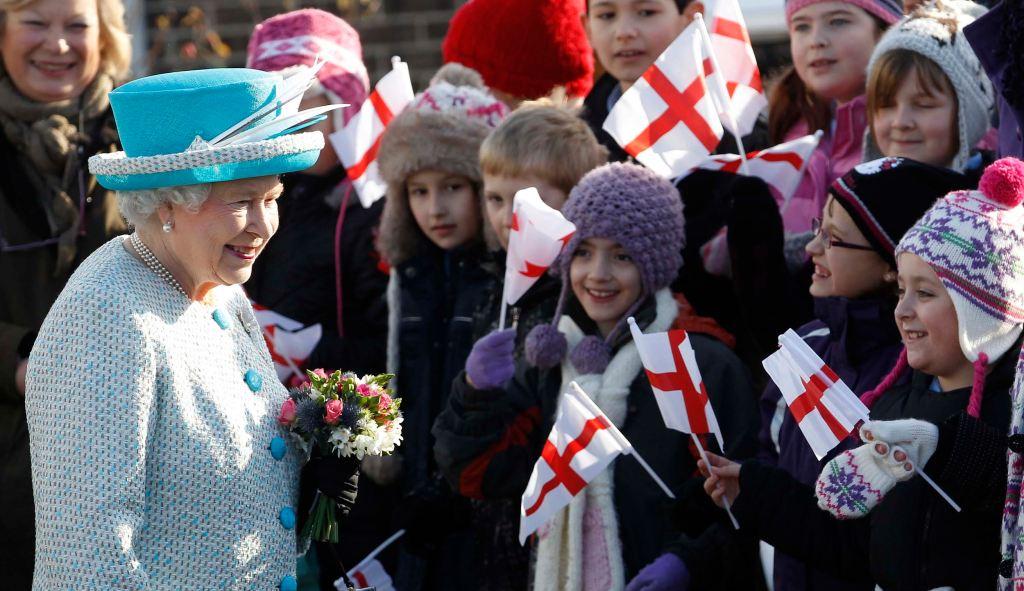 Kraljica Elizabeta II sa decom
