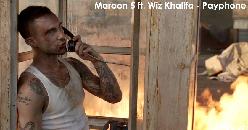 Hit lista Verbalista, Maroon 5, Payphone