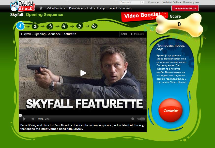 engleski za pocetnike - film Skyfall
