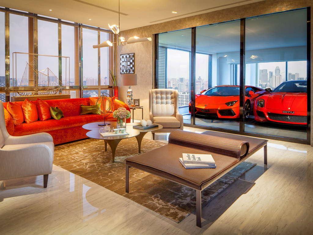 Najskuplja garaza na svetu u Singapuru, neboder Hamilton Scott