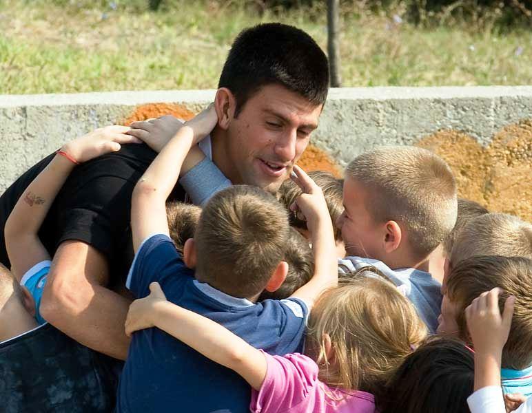 Novak Djokovic i fond za pomoc deci