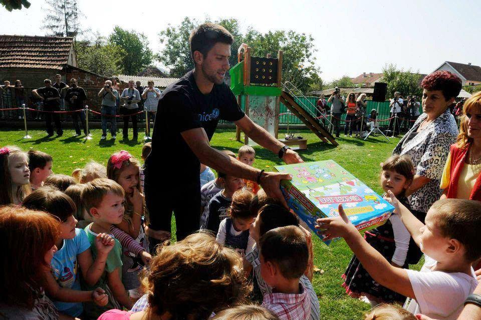 Novak Djokovic podrzava rad i ulaganje u rani razvoj dece i ucenje kroz igru