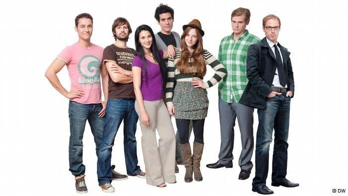 Glumci serije Jojo sucht das Glück