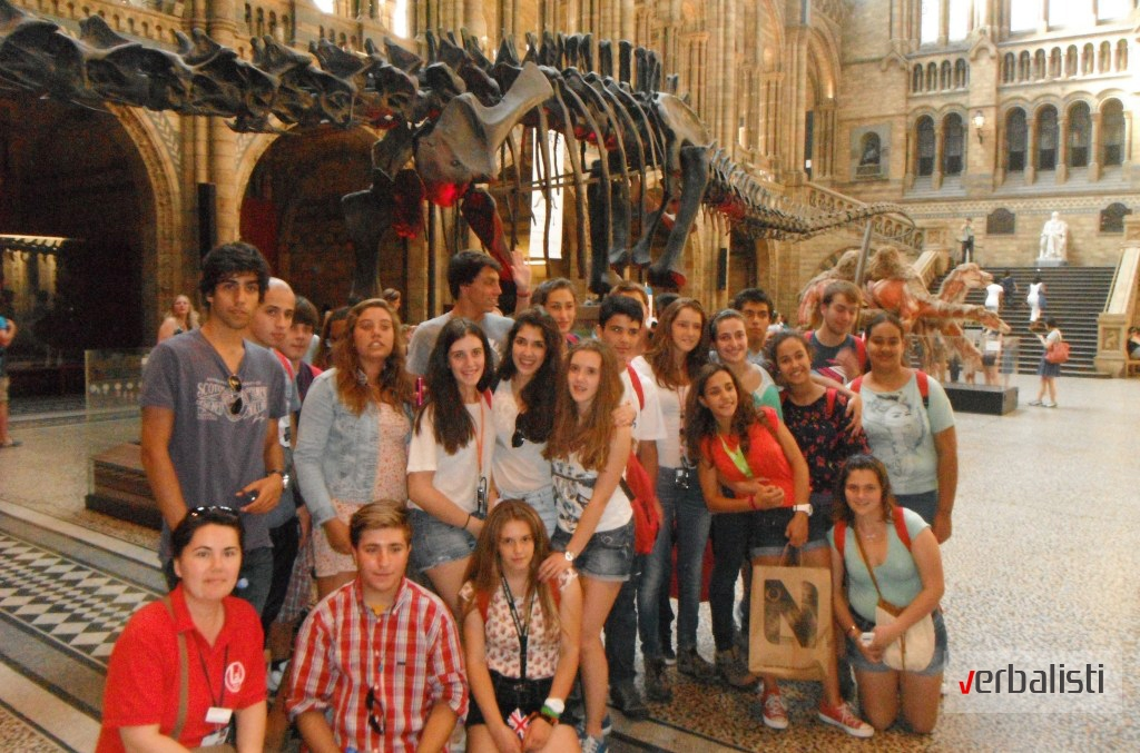 Ekskurzija i poseta muzeju Natural History, Verbalisti