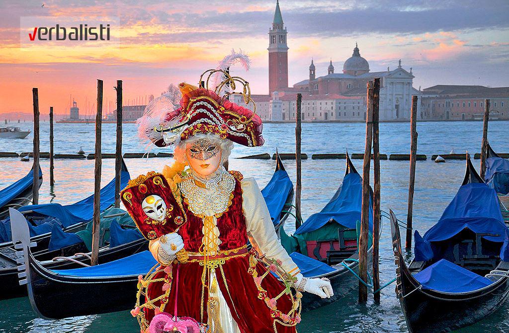 Kursevi italijanskog jezika i Karneval u Veneciji