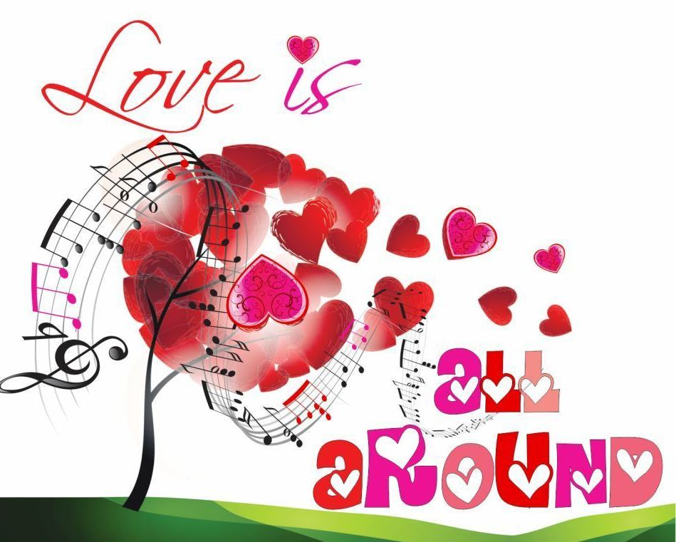 pesma Love is all around