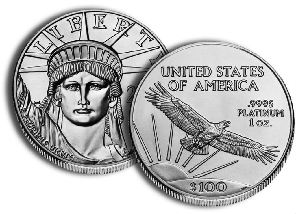 Platinum novcic americke vlade