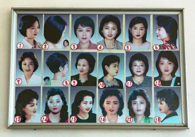 Dozvoljene frizure za zene u Severnoj Koreji