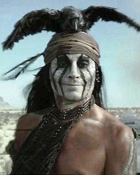 Dzoni Dep kao Indijanac Tonto