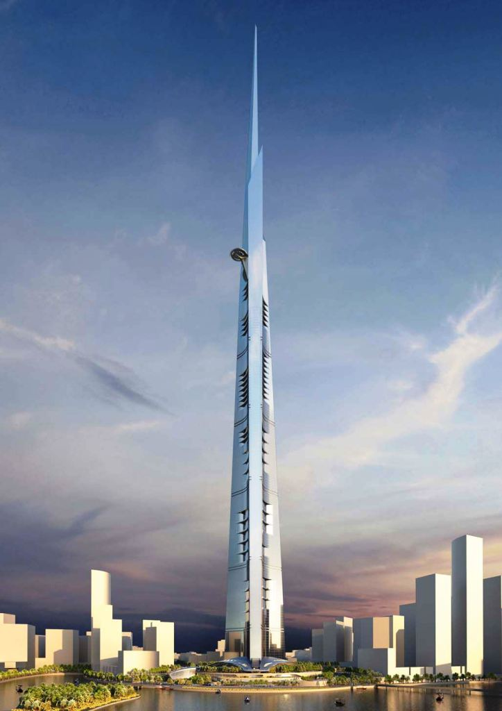 Kingdom tower u gradu Jeddah