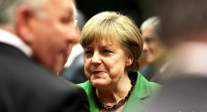 Angela Merkel u vestima na nemaskom jeziku