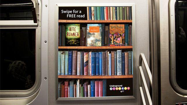 Biblioteka u podzemnoj zeleznici