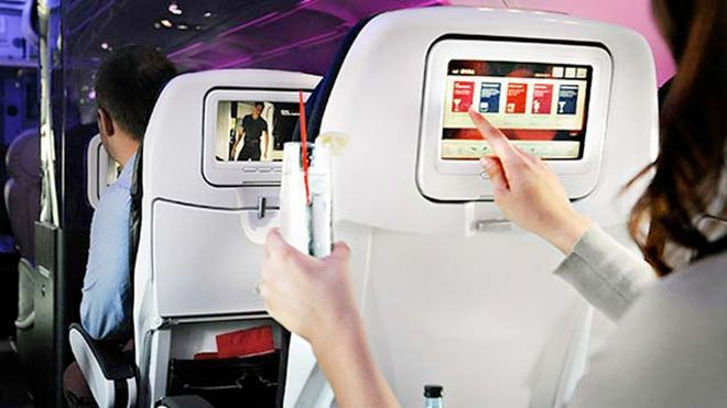 Flertovanje u avionu