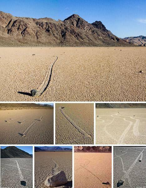 Kotrljajuce kamenje Doline smrti