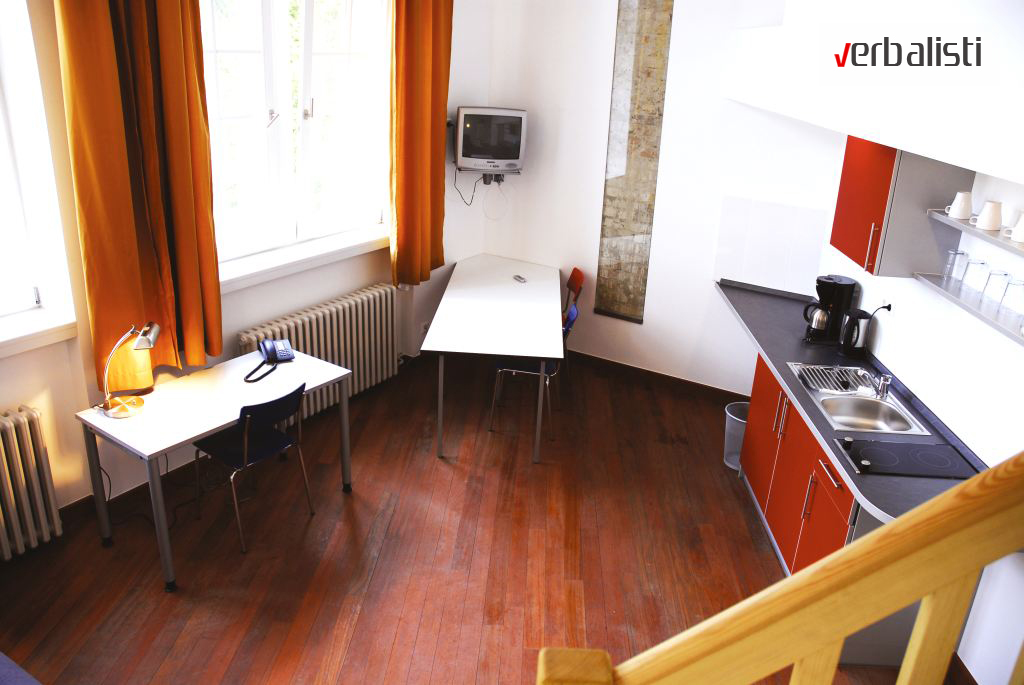 Skola nemackog GLS u Berlinu, standardni tip apartmana