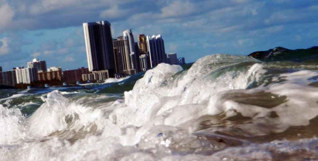 Propast Njujroka i Majamija, globalno zagrevanje