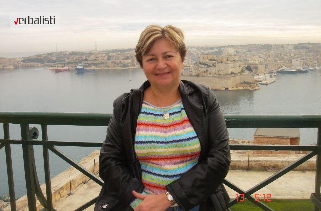 Sofija polaznica jezicke mreze Verbalisti na Malti