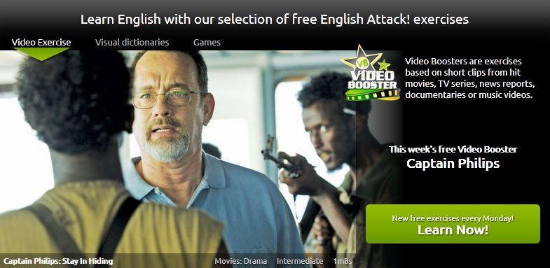 English Attack video za ucenje engleskog
