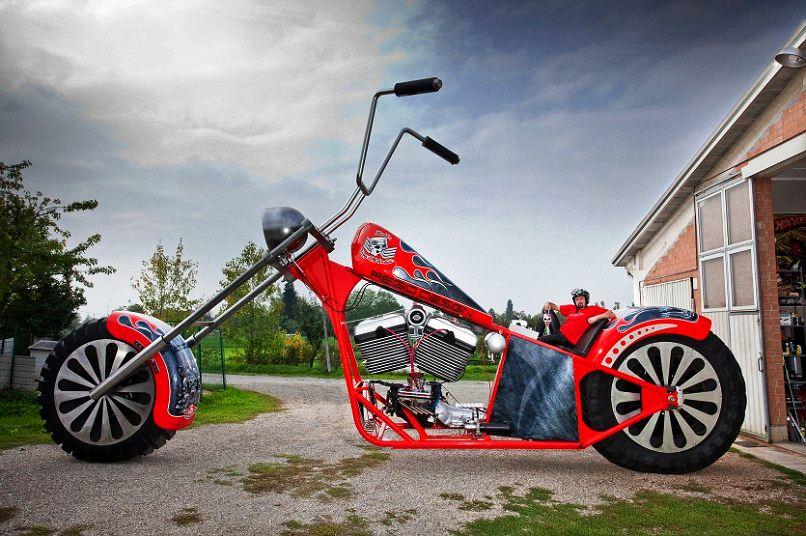 Najveci motocikl u voznom stanju
