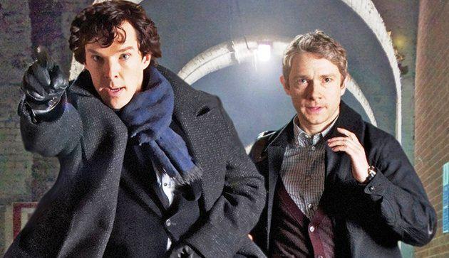 Sherlock is back