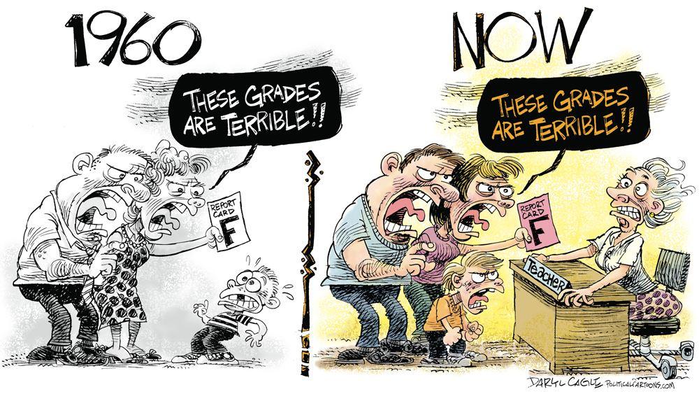 Odnos prema nastavnicima - nekad i sad