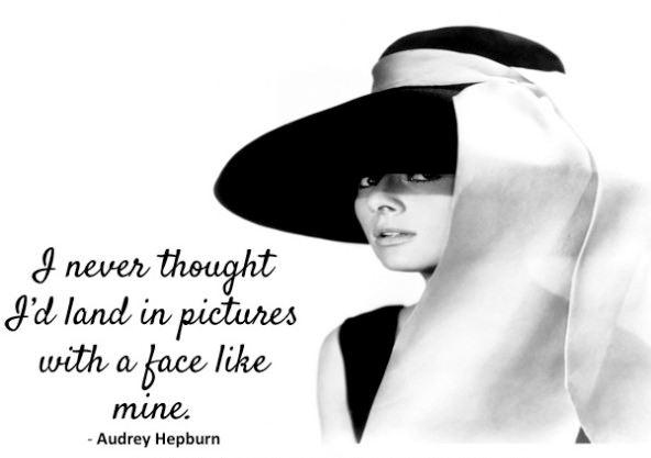 Odri Hepbern o svom izgledu i filmu