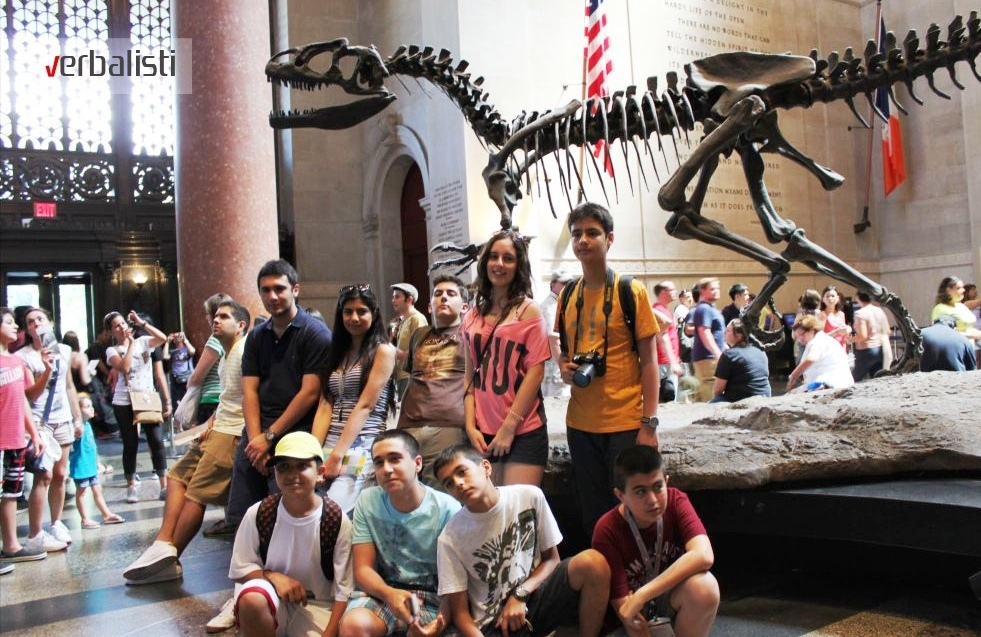 Ekskurzija, Natural History Museum, New York, Verbalisti