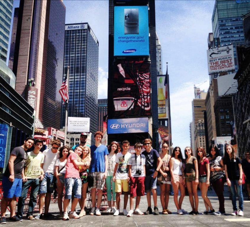 Verbalisti na Times Squareu