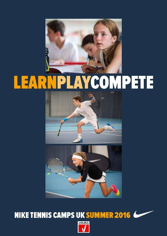 2016 Brošura za školu tenisa NIKE