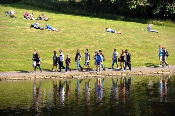 Šetnja u parku Sefton