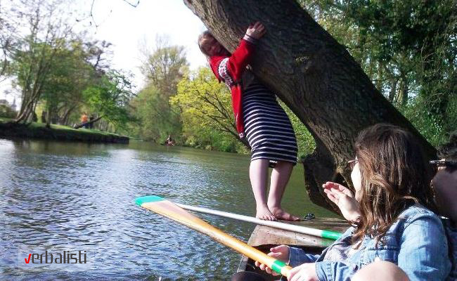 Punting doesn't always go to plan