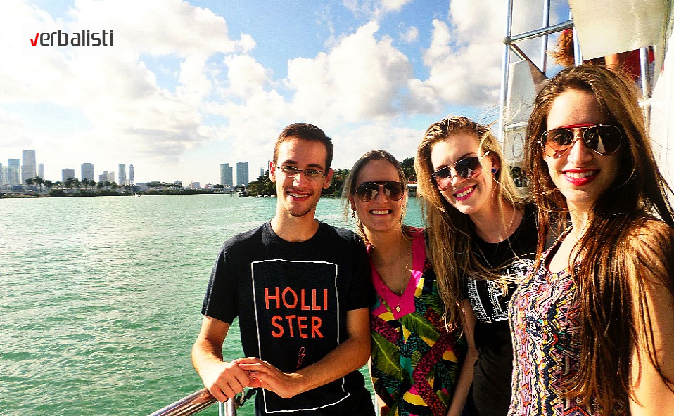 Polaznici jezičke mreže na pripremnom TOEFL programu u Majamiju
