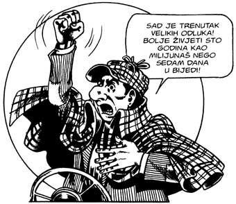 Alan Ford, izjave Bob Rocka u stripu