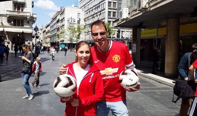 Manchester United u Knez Mihajlovoj