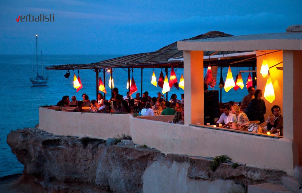 Nas omiljen restoran na Ibici, Verbalisti