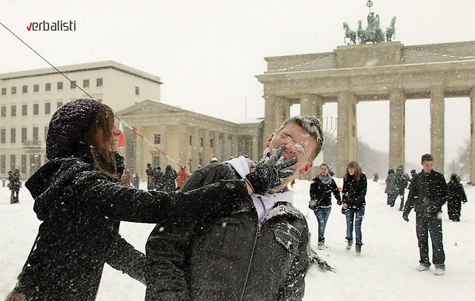 Skola nemackog za mlade tokom zime, Verbalisti