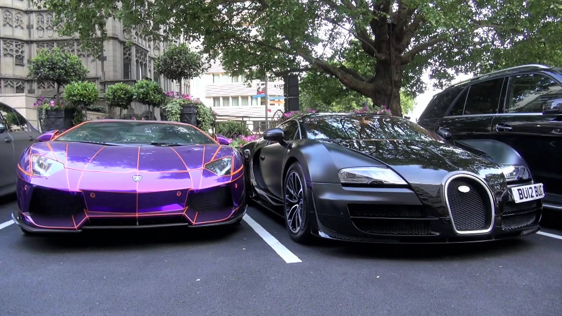 Superautomobili u Londonu