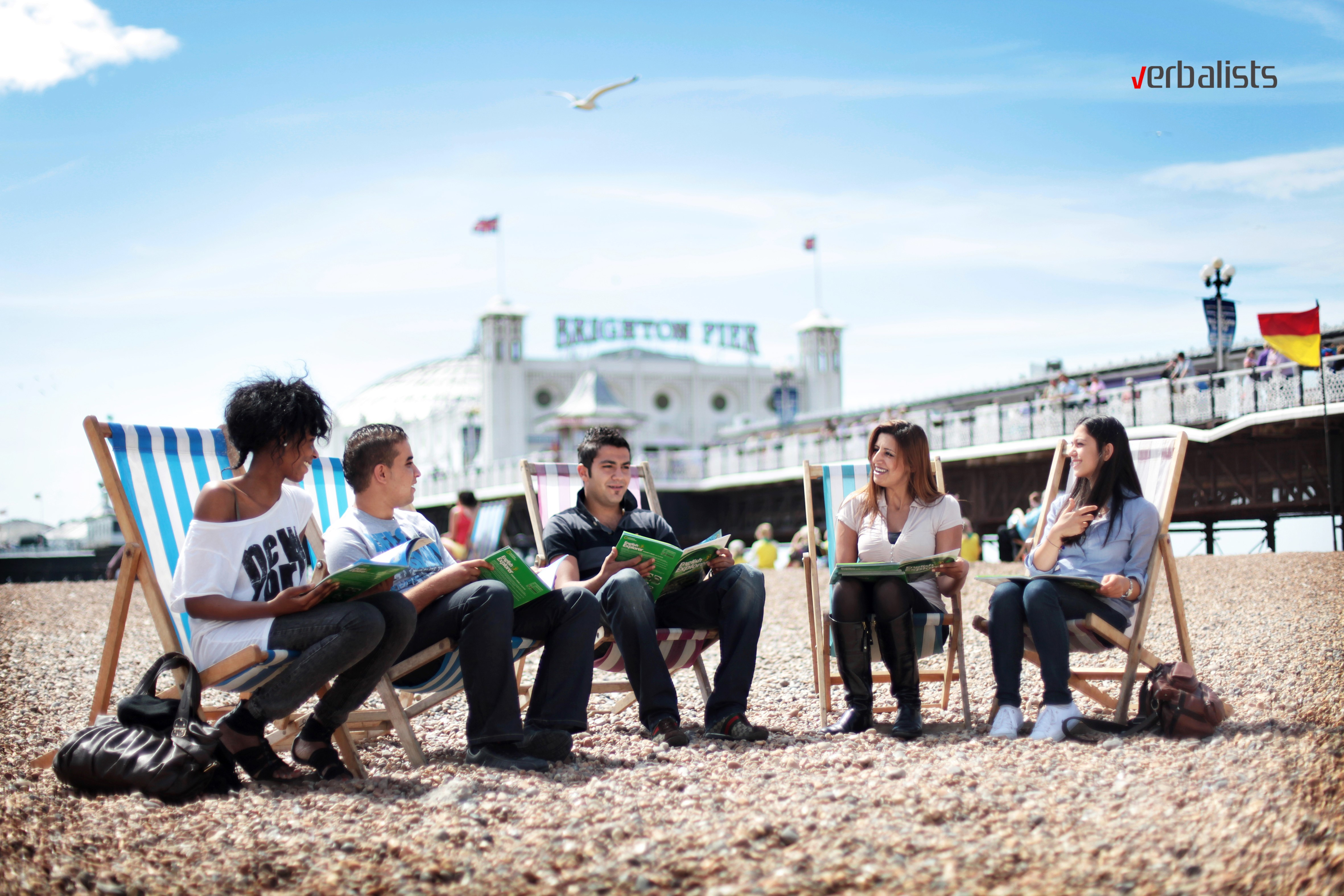 Brighton Language College - časovi engleskog na plaži