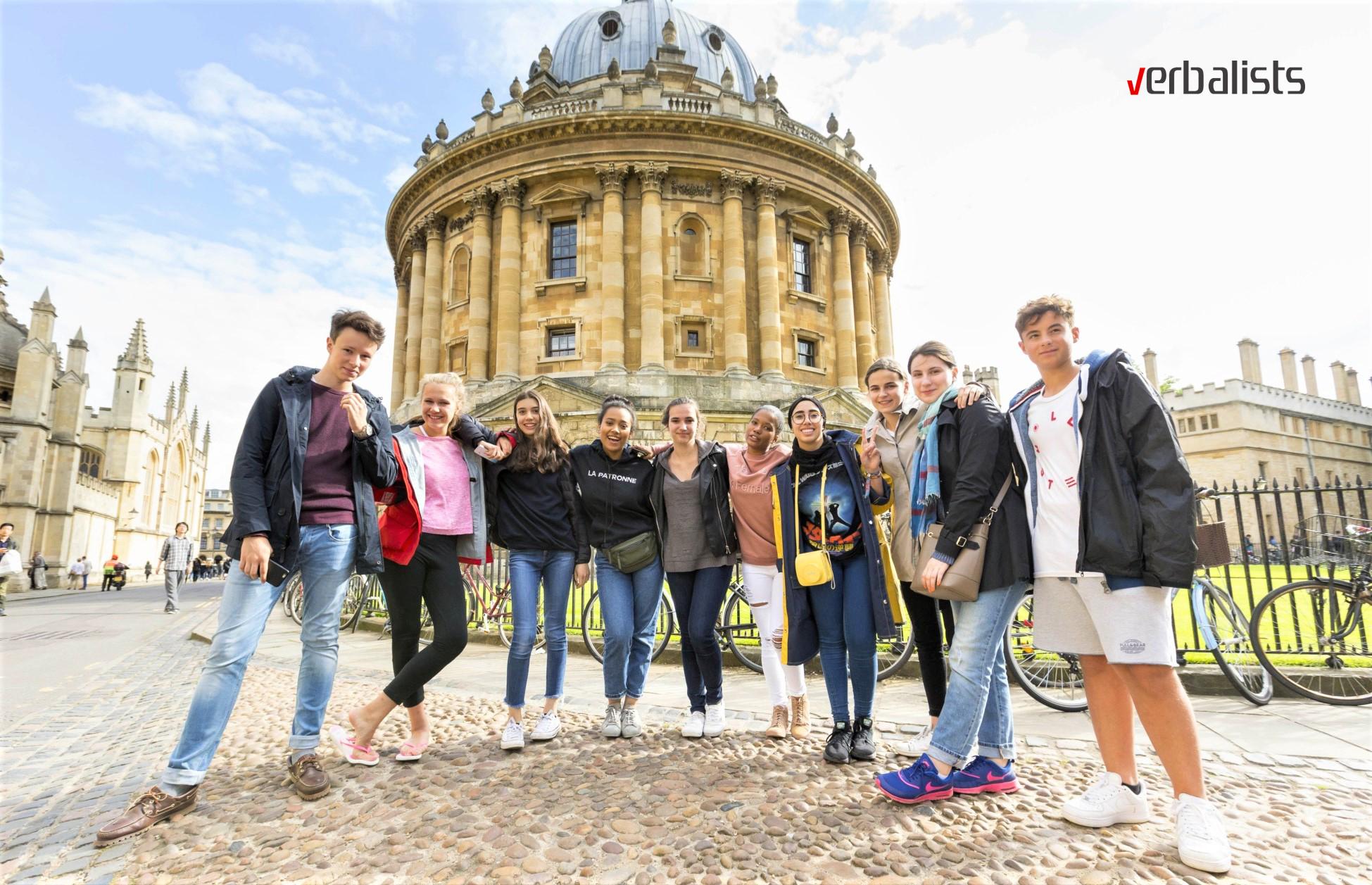 Kursevi engleskog jezika i akademski programi u Oksfordu, Verbalisti