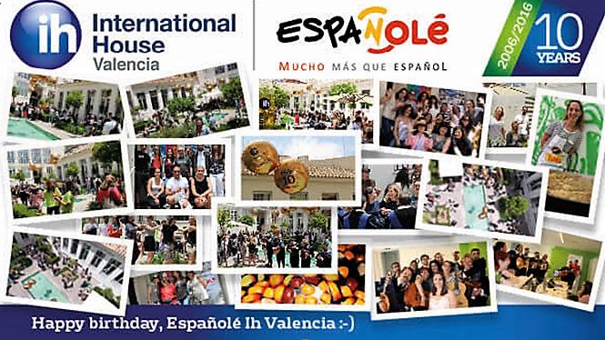 Skola spanskog jezika IH Valensija proslavlja svoj 10 rodjendan