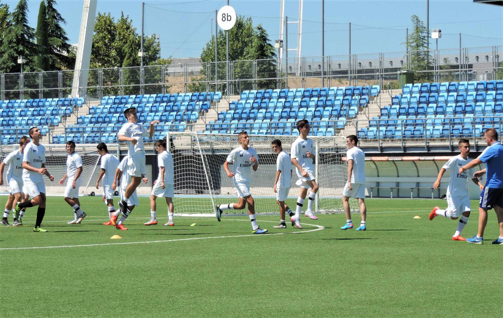 Trening seniora, skola fudbala Real Madrid